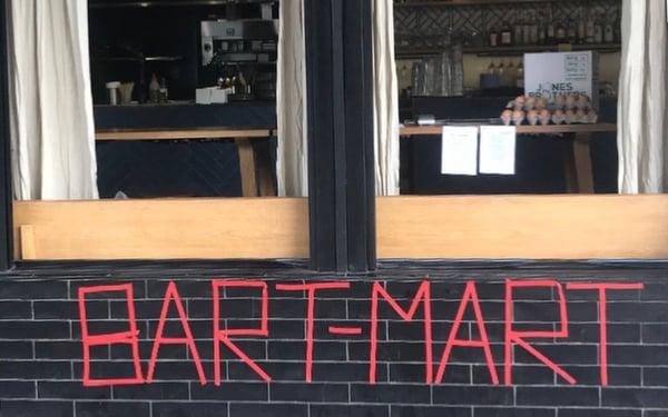 Bart Mart Mini Mart Sign